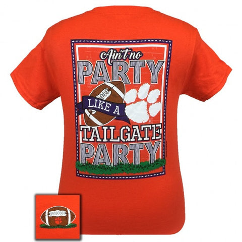 South Carolina Clemson Tigers Tailgate Party T-Shirt - SimplyCuteTees