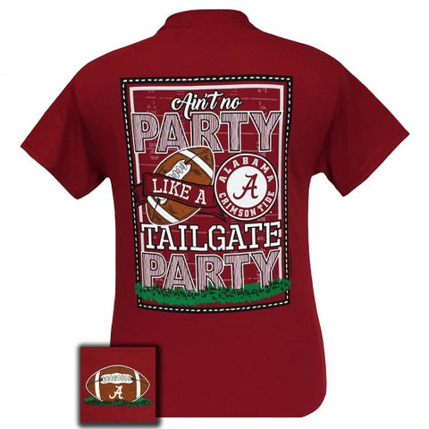 Alabama Crimson Tide Tuscaloosa Tailgate Party T-Shirt - SimplyCuteTees