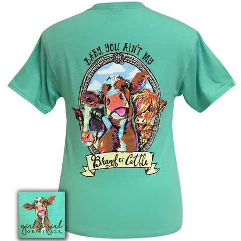 Girlie Girl Originals Preppy Brand Of Cattle T-Shirt