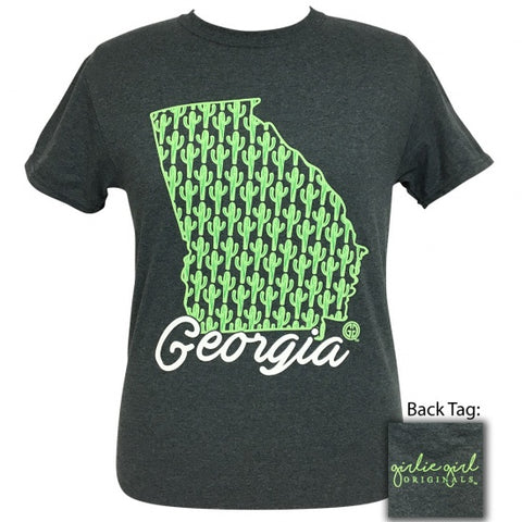 Girlie Girl Originals Georgia Cactus Preppy State T-Shirt