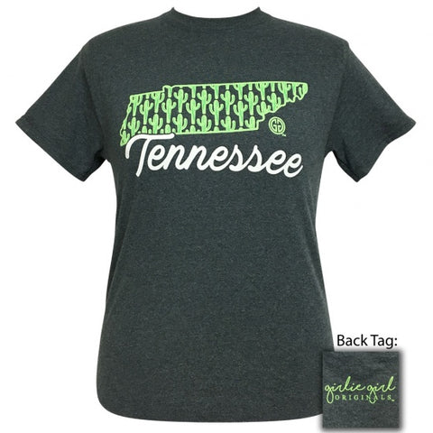 Girlie Girl Originals Tennessee Cactus Preppy State T-Shirt