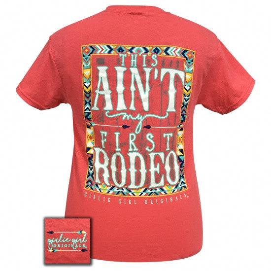 Girlie Girl Preppy This Ain T My First Rodeo T Shirt Simplycutetees