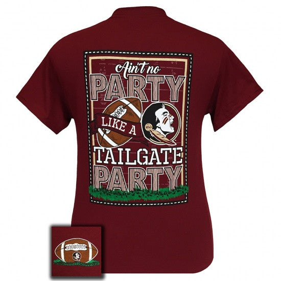 FSU Florida State Seminoles Tallahassee Tailgate Party T-Shirt