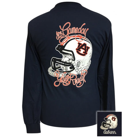 Auburn Tigers Its Gameday Yall Ready Long Sleeve T-Shirt - SimplyCuteTees