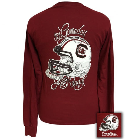 South Carolina Gamecocks Its Gameday Yall Ready Long Sleeve T-Shirt - SimplyCuteTees