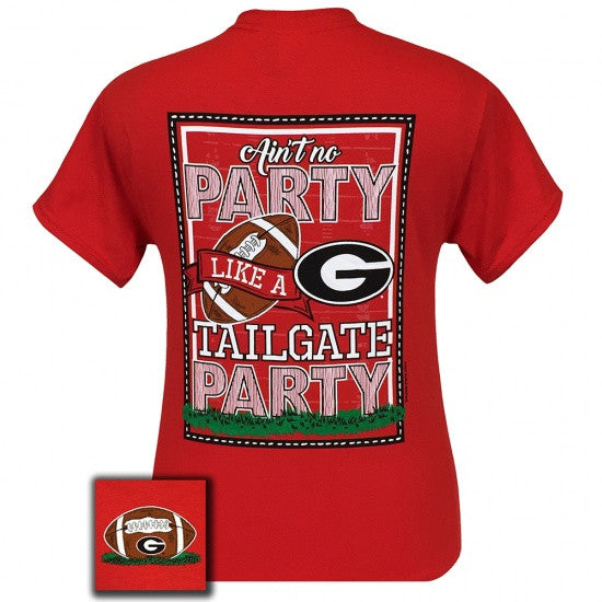 Georgia Bulldogs Athens Tailgate Party T-Shirt