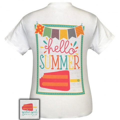 Girlie Girl Originals Preppy Hello Summer T-Shirt