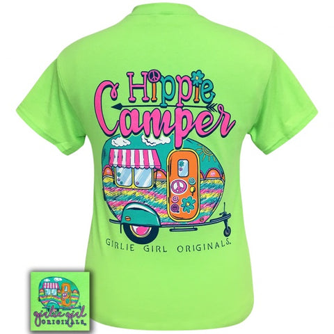 Girlie Girl Originals Preppy Hippie Camper T-Shirt - SimplyCuteTees
