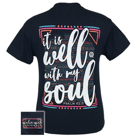 Girlie Girl Southern Originals Well With My Soul Faith T-Shirt