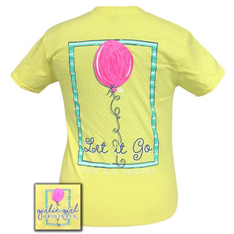 Girlie Girl Originals Preppy Let It Go Balloon T-Shirt - SimplyCuteTees