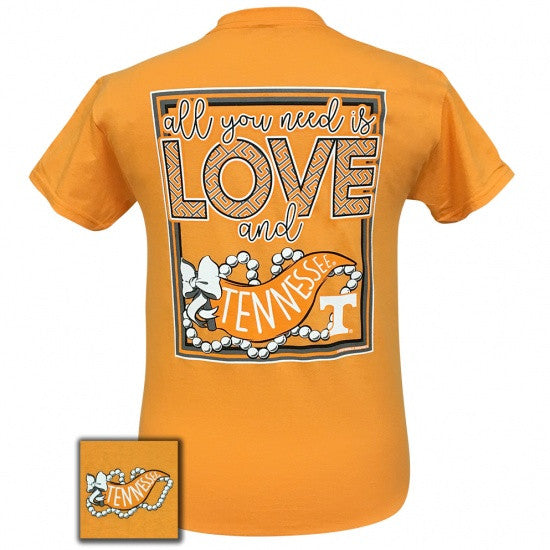 Tennessee Vols Volunteer All You Need Is Love T-Shirt - SimplyCuteTees