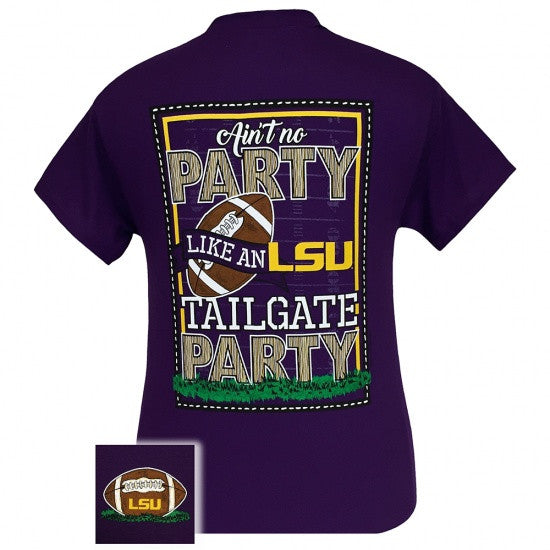 Louisiana State LSU Tigers Baton Rouge Tailgate Party T-Shirt - SimplyCuteTees