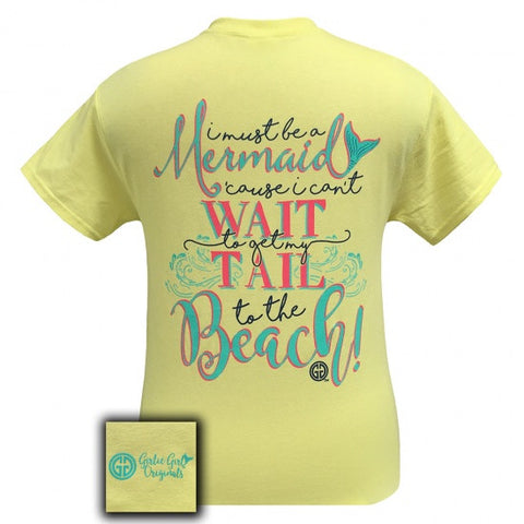 Girlie Girl Originals Mermaid Tail To The Beach T-Shirt
