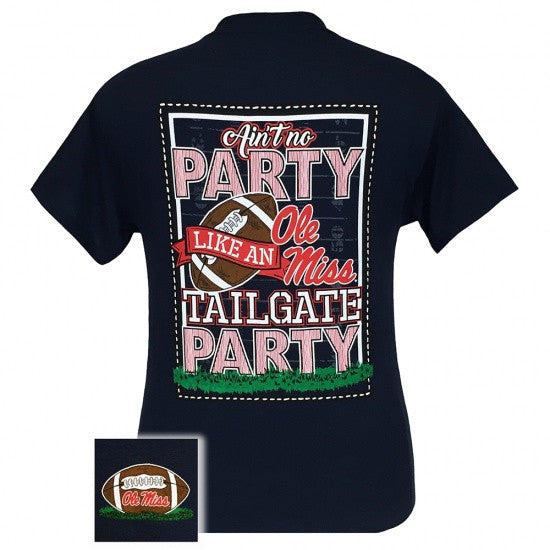 Mississippi Ole Miss Rebels Oxford Tailgate Party T Shirt