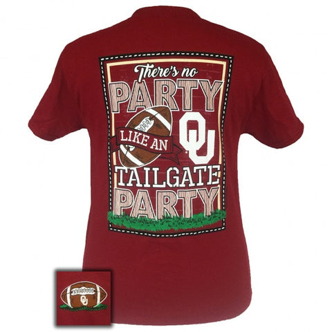Oklahoma Sooners ain't no party like a Tailgate Party T-Shirt