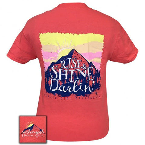 Girlie Girl Originals Preppy Rise & Shine Darlin T-Shirt