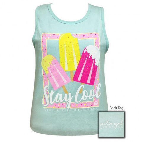 Girlie Girl Preppy Stay Cool Tank Top