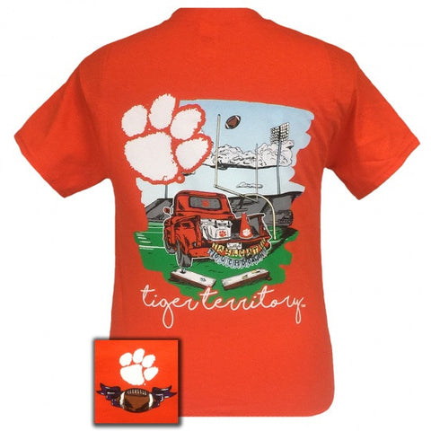South Carolina Clemson Tigers Tailgates & Touchdowns Party T-Shirt