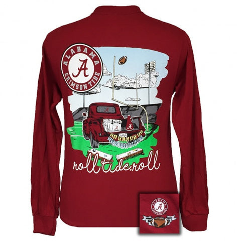 Alabama Crimson Tide Tailgates & Touchdowns Party Long Sleeve T-Shirt