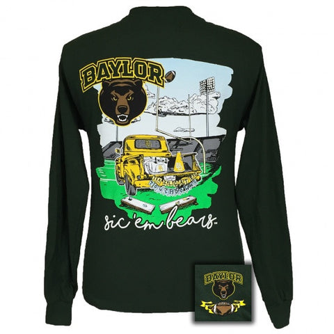 Texas Baylor Bears Tailgates And Touchdowns Long Sleeves T-Shirt