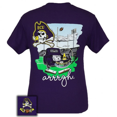 ECU East Carolina Pirates Tailgates & Touchdowns Party T-Shirt