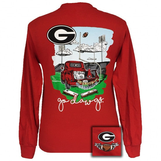 278977fad823 Georgia Bulldogs Athens Tailgates & Touchdowns Party Long Sleeve T-Shirt
