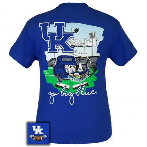UK Kentucky Wildcats Tailgates & Touchdowns Party T-Shirt - SimplyCuteTees