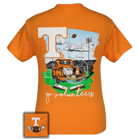 Tennessee Vols Volunteer Knoxville Tailgate & Touchdowns Party T-Shirt - SimplyCuteTees