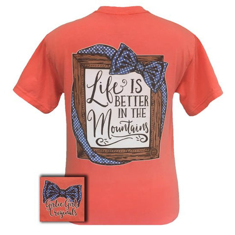 Girlie Girl Originals Life Is Better In The Mountains Comfort Colors T-Shirt