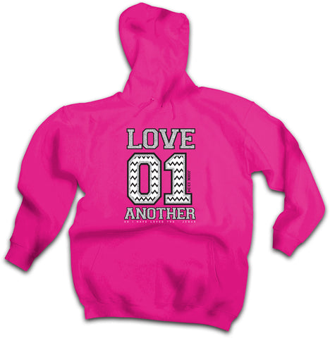 Cherished Girl Love 01 Another Chevron Girlie Christian Pullover Shirt Bright Hoodie - SimplyCuteTees