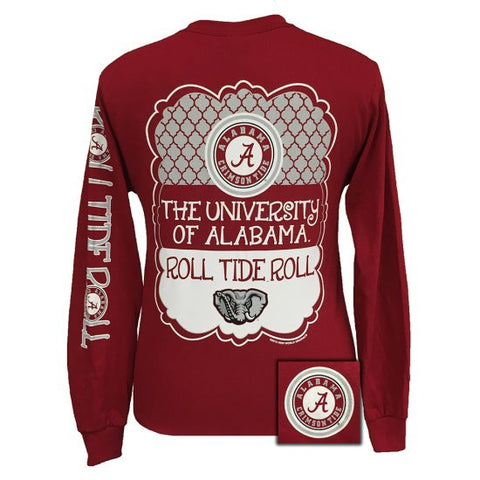 Alabama tees simplycutetees for Alabama roll tide t shirts