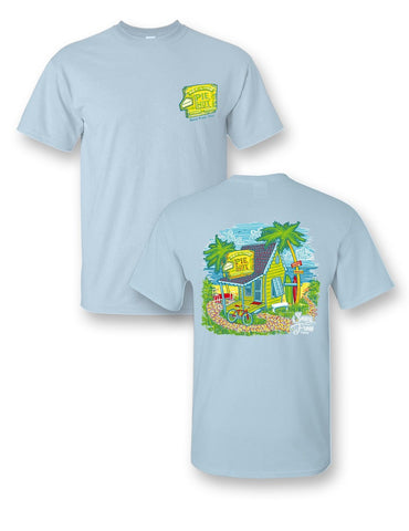 Sassy Frass Key Lime Pie Hut Beach Comfort Colors Girlie Bright T Shirt