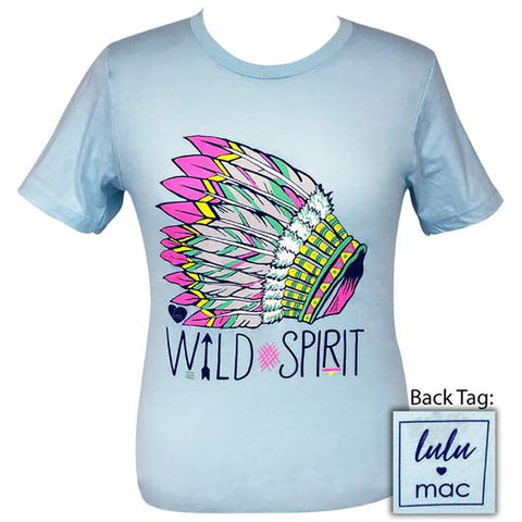 de455512 Girlie Girl Originals Lulu Mac Preppy Wild Spirit T-Shirt