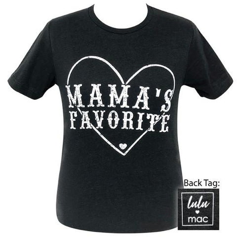dedcf6f1 Girlie Girl Originals Lulu Mac Preppy Mama's Favorite T-Shirt