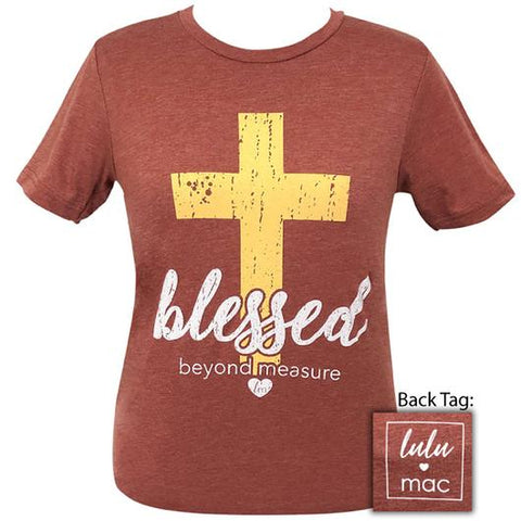 Girlie Girl Originals Lulu Mac Preppy Blessed Beyond Measure T-Shirt