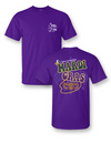 Sassy Frass Mardi Gras Mask Let the Good Times Roll Bright Girlie T Shirt - SimplyCuteTees