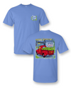Sassy Frass Watermelon Truck USA Flag Summer Bright Girlie T Shirt
