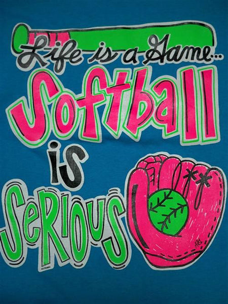 Sale southern chics funny softball serious youth girlie - Simply southern backgrounds ...
