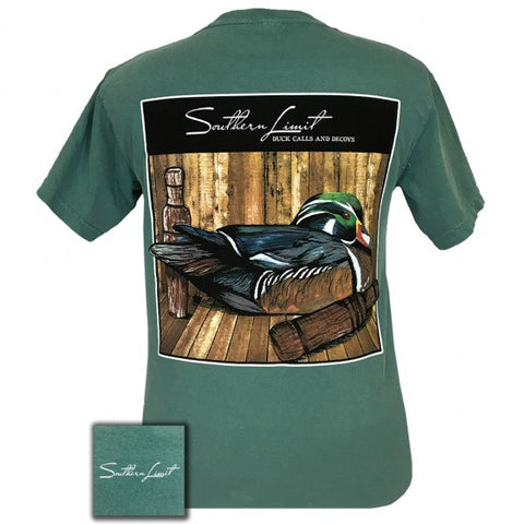 Southern Limits Duck Decoys Bird Comfort Colors Unisex T-Shirt - SimplyCuteTees