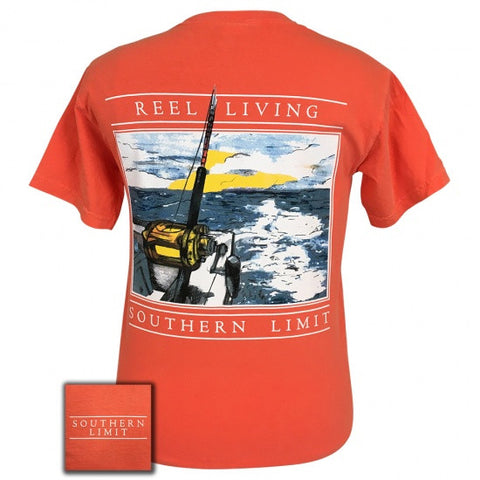 Southern Limits Reel Living Unisex Comfort Colors T-Shirt - SimplyCuteTees