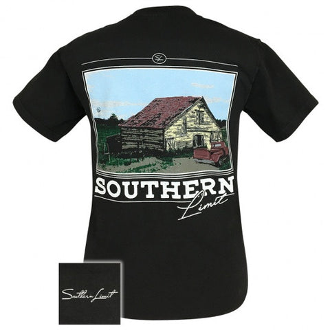 Southern Limits Country Barn Unisex Comfort Colors T-Shirt - SimplyCuteTees