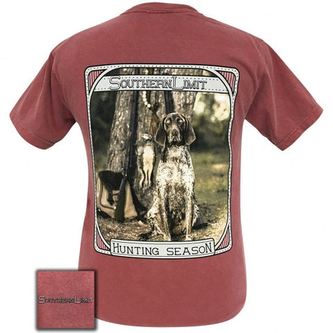 Southern Limits Hunting Dog Unisex Comfort Colors T-Shirt - SimplyCuteTees