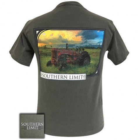 Southern Limits Tractor Unisex Comfort Colors T-Shirt