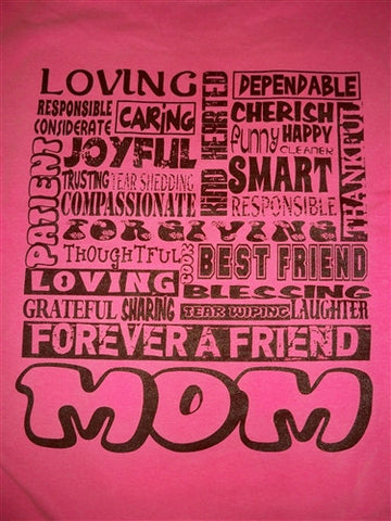 SALE Southern Chics Forever a Friend Mom Mama Mother Comfort Colors Girlie Bright T Shirt