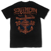Southern Vine Originals Supreme Anchor Black T-Shirt - SimplyCuteTees
