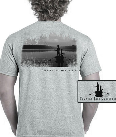 Country Life Outfitters Vintage Fishing Buddy Unisex T-Shirt - SimplyCuteTees