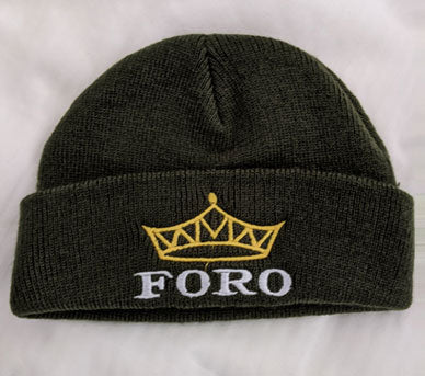 Foro Retro Beanie with Tiara