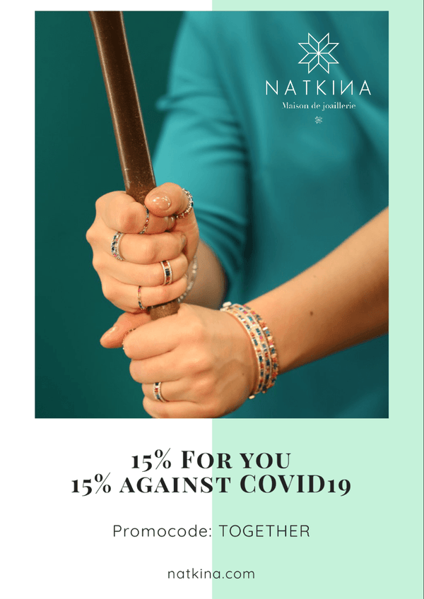 15% FOR YOU, 15% AGAINST COVID19 | Natkina
