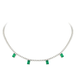 Breathtaking Diamond 18K White Gold Necklace for Her