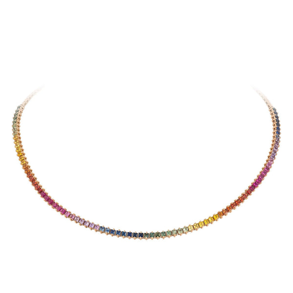 Breathtaking Diamond 18K Rose Gold Necklace for Her